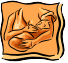 drawing of woman breastfeeding